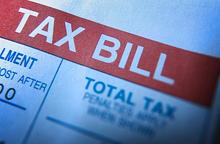 property tax loan tax bill
